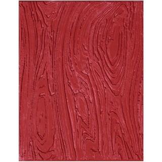 Mayco Rubber Woodgrain Designer-Texture Mat, 7 X 9 in