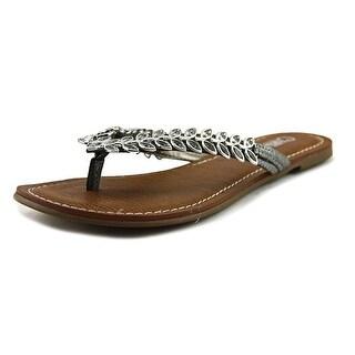 Carlos by Carlos Santana Heron Women  Open Toe Synthetic  Thong Sandal
