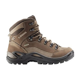 Lowa Women's Renegade GTX Mid Wide Hiking Shoes Gortex - Espresso/Brown