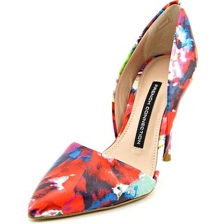French Connection Elvia Women Pointed Toe Leather Multi Color Heels