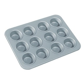"Fox Run 4453 Non Stick Mini Muffin Pan, 12 Cup, 9.5"" x 7.25"""