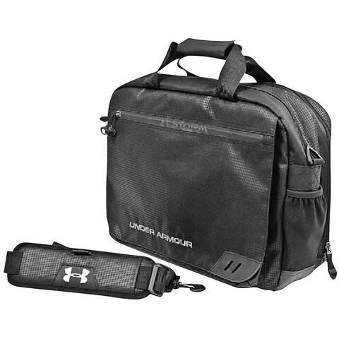 Under Armour Large Laptop Coach's Briefcase, Black UASB-CB3 - 13'' X 18 X 9