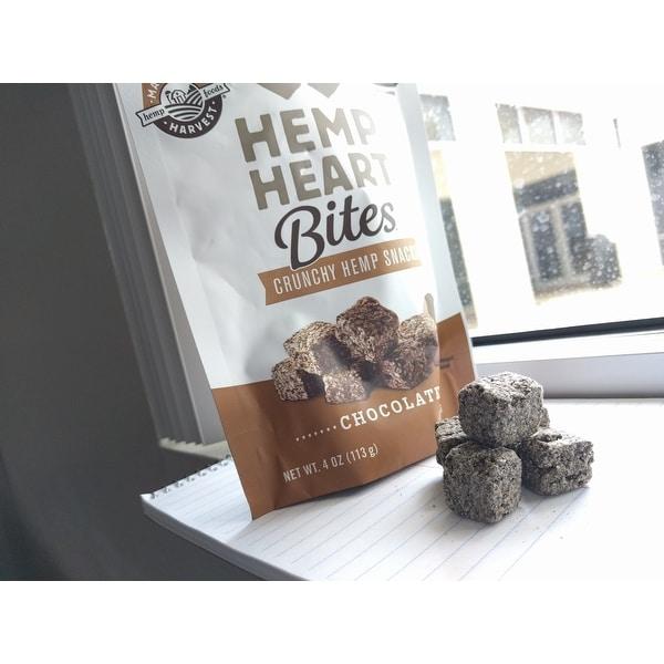 Manitoba Harvest Hemp Heart Bites - Chocolate - 4 oz - Case of 12
