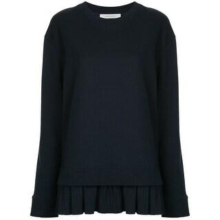 Harlowe & Graham Womens Plus Crewneck Pullover Sweater