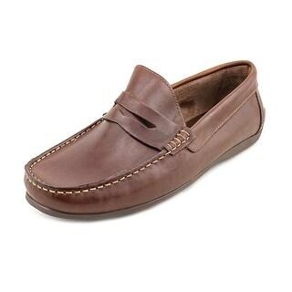 Florsheim Jasper Venetian Men 3E Moc Toe Leather Loafer