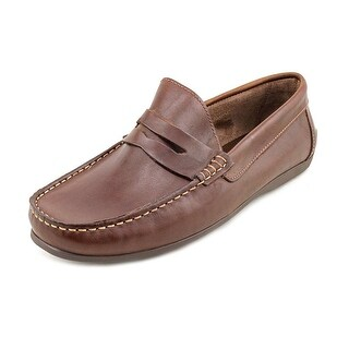 Florsheim Jasper Venetian Men Moc Toe Leather Brown Loafer