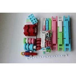 Lepao Building Blocks - 116 pcs PINK
