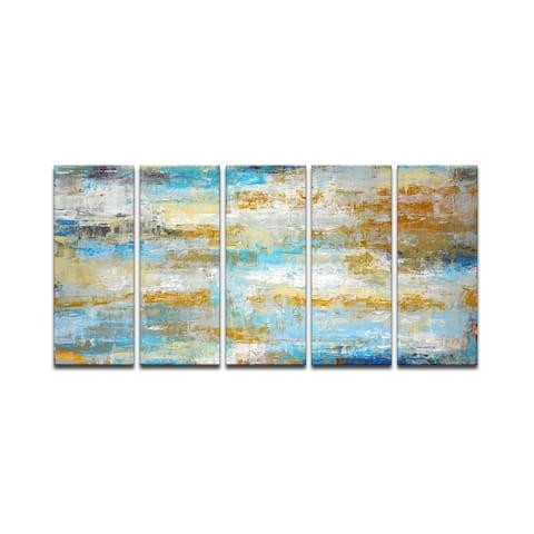 'Ocean Treasure' Wrapped Canvas Wall Art by Norman Wyatt Jr.