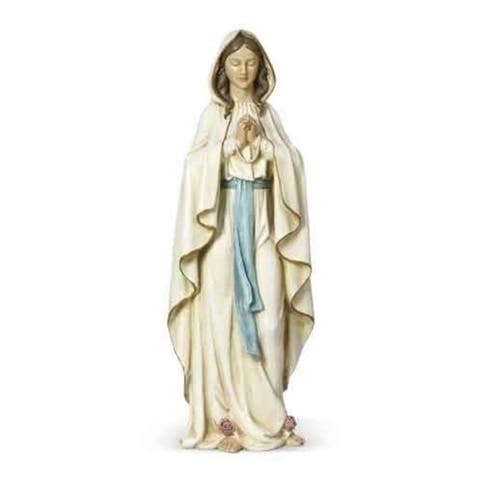 """24"""" Joseph's Studio Mary Our Lady of Lourdes Religious Statue Figure - N/A"""