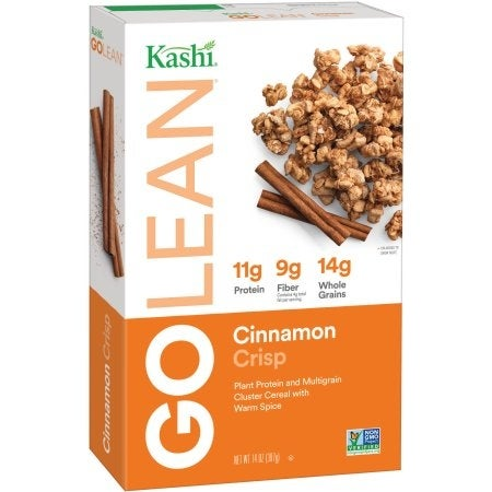 Kashi Cinnamon Crisp Cereal - Case of 12 - 14 oz.
