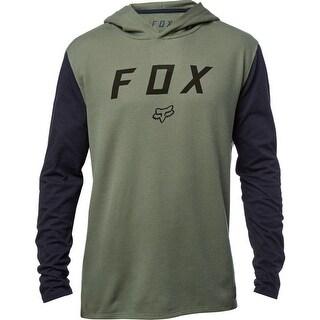 Fox Racing Men's Tranzit Hooded Long Sleeve Knit