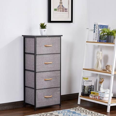 4 Drawers Dresser Narrow Storage Closets