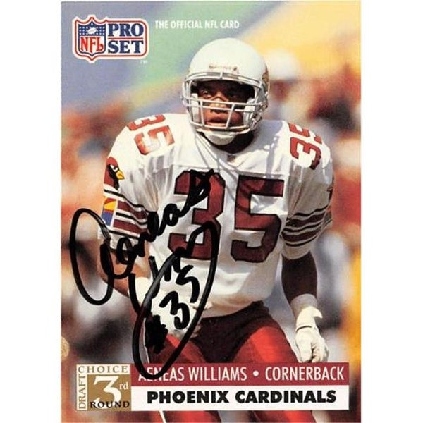1ad426a856c3 Shop Arizona Cardinals 1991 Pro Set No. 788 Aeneas Williams ed Football -  Free Shipping On Orders Over  45 - Overstock - 23730586