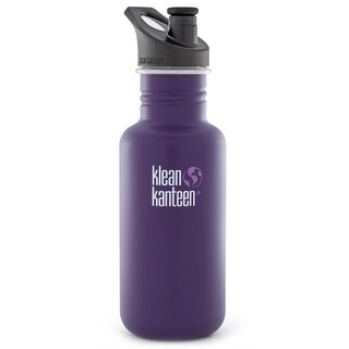 Klean Kanteen Classic 18 oz. Bottle with 3.0 Sport Cap - Berry Syrup