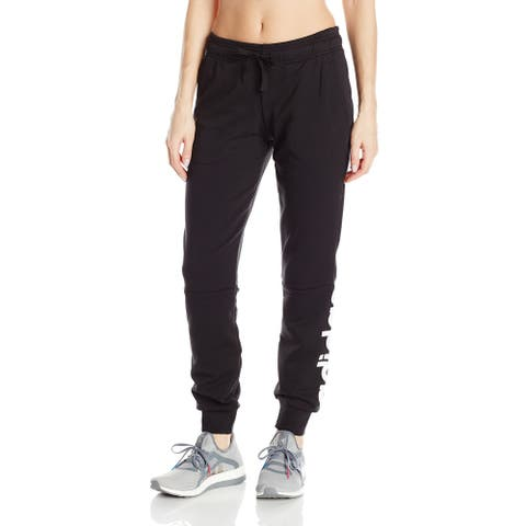 Adidas Womens Pants Black Size XXS Jogger Logo Knot Climalite Stretch