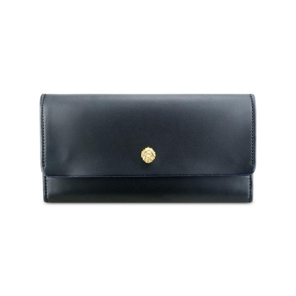 Nine West Womens Maverick Organizer Wallet Smooth Faux Leather - o/s