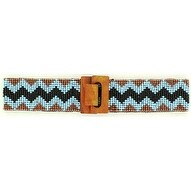 Nocona Western Belt Womens Beaded Stretch Multi-Color