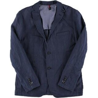 BOSS Hugo Boss Mens Linen Lined Sportcoat - 42R