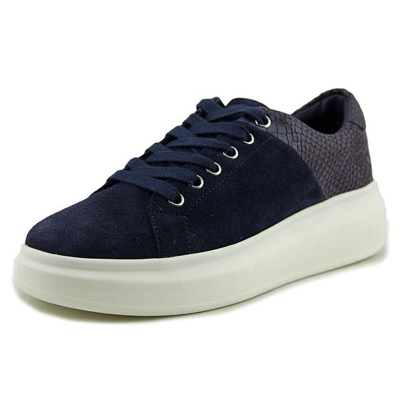 J/Slides Dania Women Suede Blue Fashion Sneakers