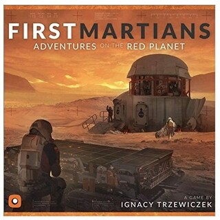 First Martians Game by Portal Games