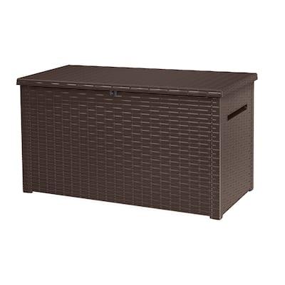 Keter Java 230 Gallon Plastic Resin Outdoor Deck Box