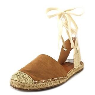 Indigo Rd. Orlina 2 Women Open Toe Canvas Brown Sandals