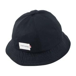 Fisherman Cotton Blends Climbing Travelling Bucket Summer Cap Fishing Hat Black
