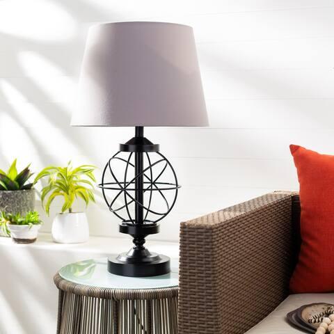 """Malvin Indoor/ Outdoor Orbital 28-inch Table Lamp - 28""""H x 16""""W x 16""""D"""