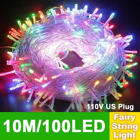 Christmas Light String Outdoor Decoration String Lights 8 Modes 50M500LED for Christmas Wedding Party Holiday