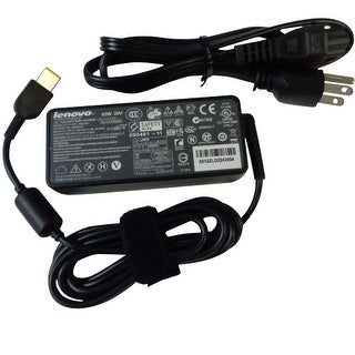 New Lenovo ThinkPad 65W Ac Adapter Charger & Cord (Slim Tip) 36200253 45N0261