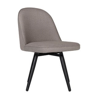 Offex Home Dome Armless Swivel Dining/Office Chair in Camel Beige