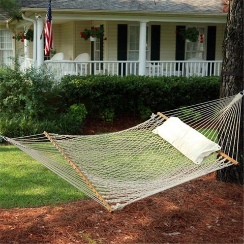 Pawleys Island 14OC The Original Deluxe Cotton Rope Hammock