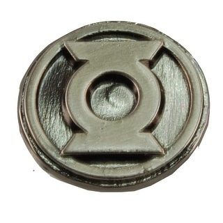"Green Lantern Logo .75"" Pewter Lapel Pin"
