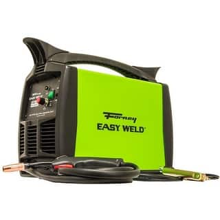 Forney 299 Easy Weld 125 Flux-Core Welder, 120 Volt, 125 Amp|https://ak1.ostkcdn.com/images/products/is/images/direct/b8cf6900eeca4fee8365f2741577c5810181061f/Forney-299-Easy-Weld-125-Flux-Core-Welder%2C-120-Volt%2C-125-Amp.jpg?impolicy=medium
