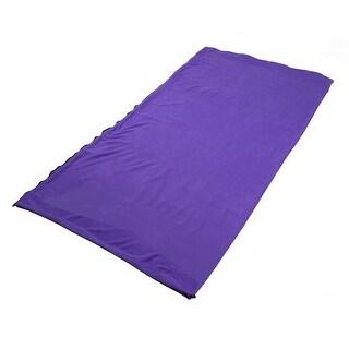 Outdoor Climbing Activities Portable Foldable Zipper Closure Sleeping Bag Purple