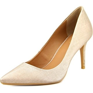 Calvin Klein Gayle  Women  Pointed Toe Synthetic Gold Heels