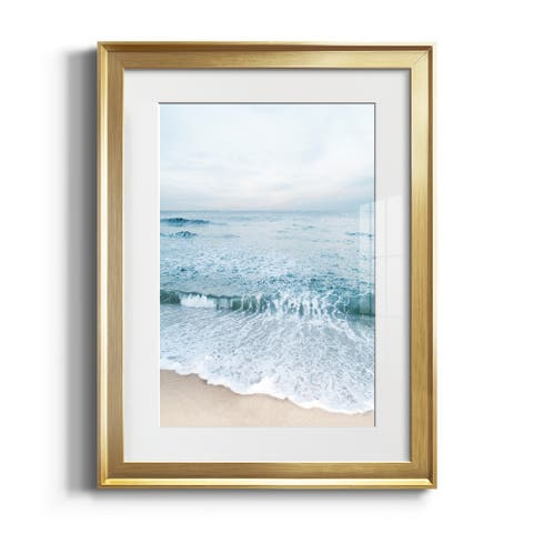 Tranquil Ocean II Premium Framed Print - Ready to Hang