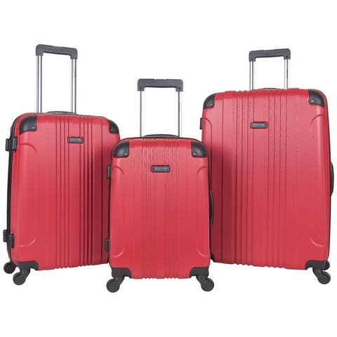 Kenneth Cole Reaction Out Of Bounds 3-Piece Lightweight Hardside 4-Wheel Spinner Luggage Set