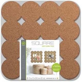 """12""""X12"""" - Dot Cork Tiles 2/Pkg"""