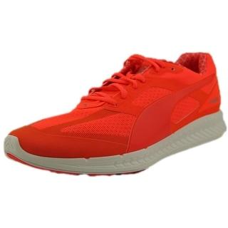 Puma Ignite Pwrwarm Round Toe Canvas Running Shoe