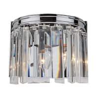 Artcraft Lighting AC10402CH El Dorado 2-Light Wall Sconce - Chrome - n/a