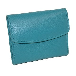 Buxton Women's Leather Mini Tri-Fold Wallet - One Size