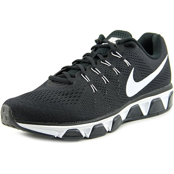 Nike Air Max Tailwind 8 Men Round Toe Synthetic Black Running Shoe