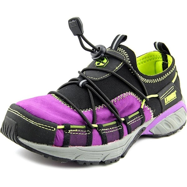 Khombu Molineo Women Round Toe Synthetic Purple Sneakers