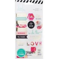 Heidi Swapp Memory Planner Stickers 2/Pkg-Floral