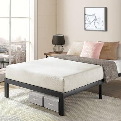 Heavy Duty Steel Slat Platform Bed Frame Series Titan E-Crown Comfort