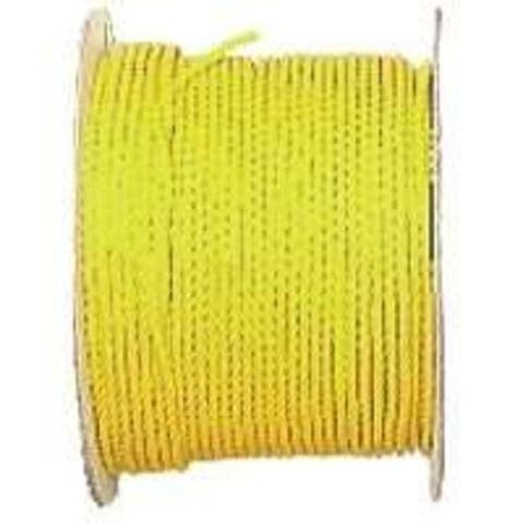 """Wellington PY582 Twisted Poly Rope 5/8""""X200' Yellow"""