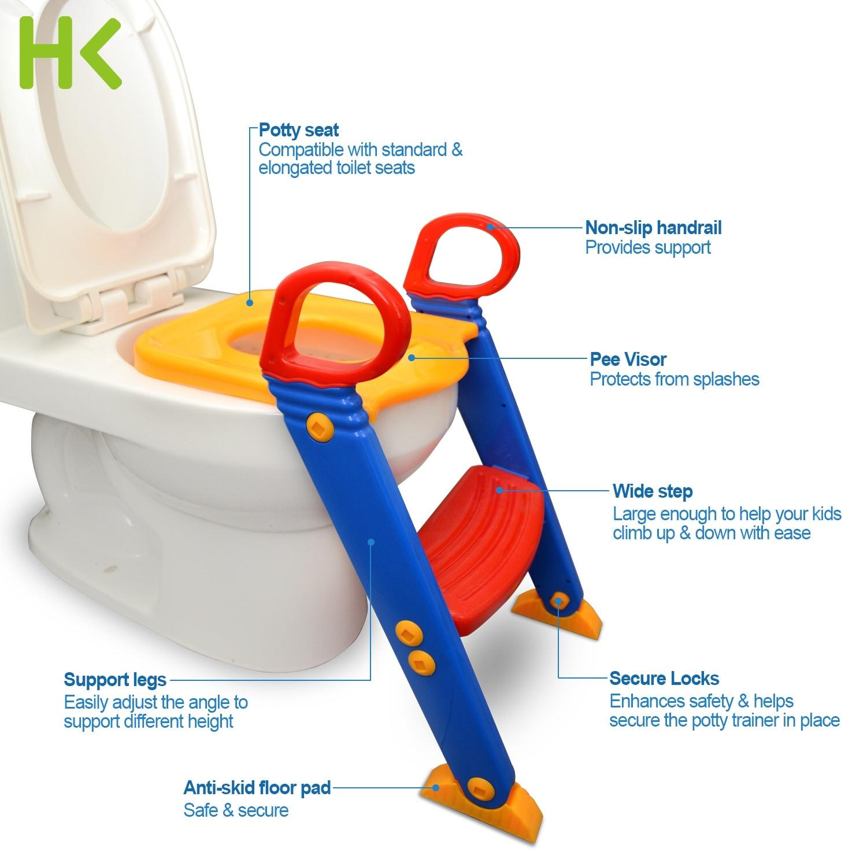 Shop Hk Anti Slip Potty Training Ladder Step Up Seat Toilet