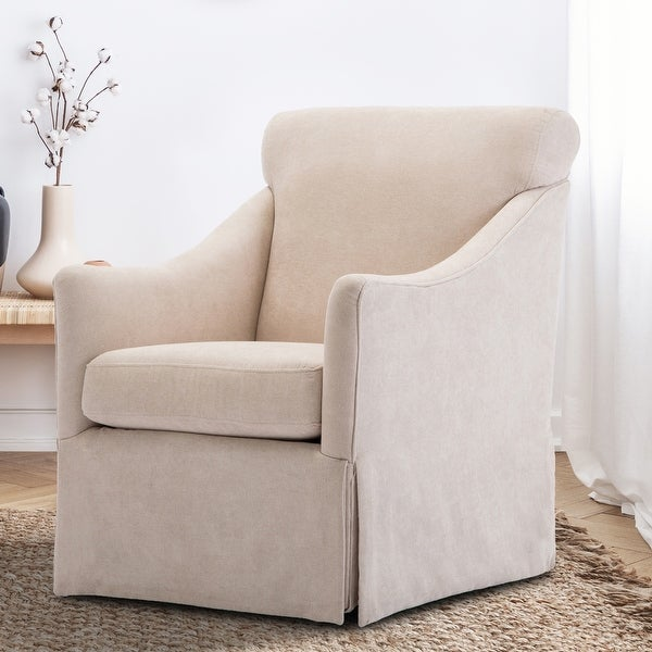 Gladis Skirted Swivel Chair by Greyson Living - See Product Description. Opens flyout.