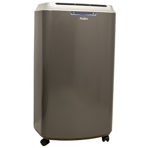 Avallon APAC140H 14,000 BTU 525 Square Foot 110-120V Portable Air Conditioner and Heater with InvisiMist Drain Technology
